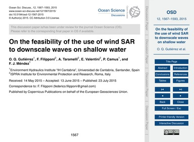 On the Feasibility of the Use of Wind Sa... by Q. Gutiérrez, O.