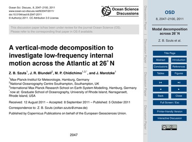 A Vertical-mode Decomposition to Investi... by Szuts, Z. B.