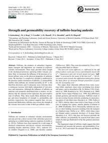 Strength and Permeability Recovery of Tu... by Kolzenburg, S.