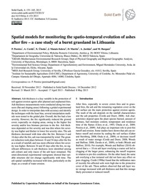 Spatial Models for Monitoring the Spatio... by Pereira, P.
