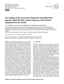 New Insights on the Occurrence of Peperi... by Luchetti, A. C. F.