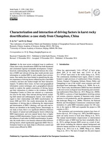 Characterization and Interaction of Driv... by Xu, E. Q.