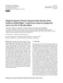 Magnetic Signature of Large Exhumed Mant... by Bronner, A.