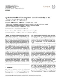 Spatial Variability of Soil Properties a... by Ferreira, V.