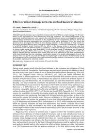 Effects of Minor Drainage Networks on Fl... by Domeneghetti, A.