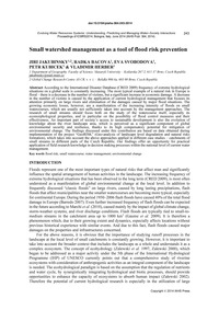 Small Watershed Management as a Tool of ... by Jakubinsky, J.