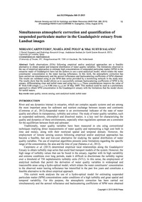 Simultaneous Atmospheric Correction and ... by Carpintero, M.