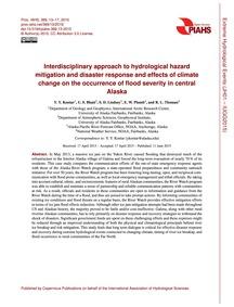 Interdisciplinary Approach to Hydrologic... by Kontar, Y. Y.