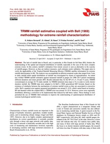 Trmm Rainfall Estimative Coupled with Be... by Schiavo Bernardi, E.