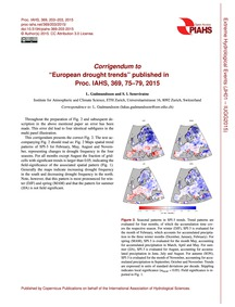 Corrigendum to European Drought Trends P... by Gudmundsson, L.