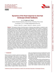 Dynamics of the Flood Response to Slow-f... by Perdigão, R. A. P.