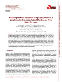 Modelling the Flood-risk Extent Using Li... by Amarnath, G.