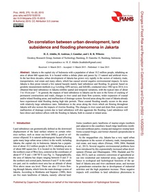 On Correlation Between Urban Development... by Abidin, H. Z.
