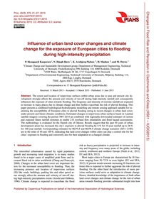 Influence of Urban Land Cover Changes an... by Skougaard Kaspersen, P.