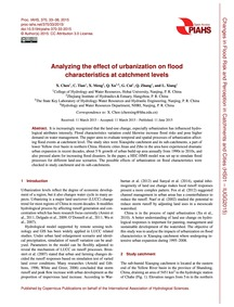 Analyzing the Effect of Urbanization on ... by Chen, X.