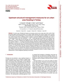 Upstream Structural Management Measures ... by Akyurek, Z.
