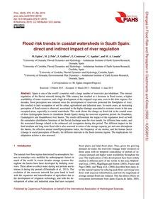 Flood Risk Trends in Coastal Watersheds ... by Egüen, M.