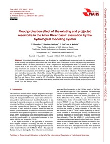 Flood Protection Effect of the Existing ... by Motovilov, Y.