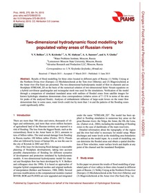 Two-dimensional Hydrodynamic Flood Model... by Belikov, V. V.