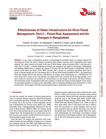 Effectiveness of Water Infrastructure fo... by Kwak, Y.
