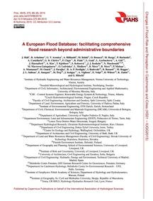 A European Flood Database: Facilitating ... by Hall, J.