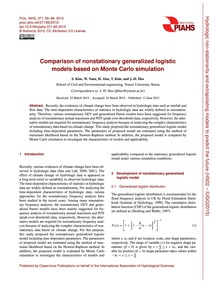 Comparison of Nonstationary Generalized ... by Kim, S.