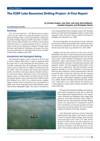 The Icdp Lake Bosumtwi Drilling Project:... by Koeberl, C.
