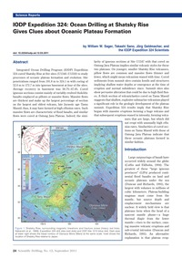 Iodp Expedition 324: Ocean Drilling at S... by Sager, W. W.