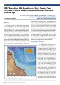 Iodp Expedition 325: Great Barrier Reefs... by Yokoyama, Y.