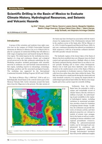 Scientific Drilling in the Basin of Mexi... by Brown, E. T.