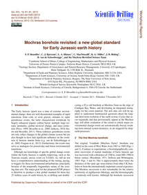 Mochras Borehole Revisited: a New Global... by Hesselbo, S. P.