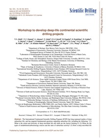 Workshop to Develop Deep-life Continenta... by Kieft, T. L.