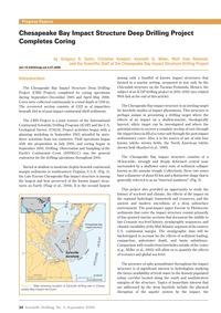 Chesapeake Bay Impact Structure Deep Dri... by Gohn, G. S.