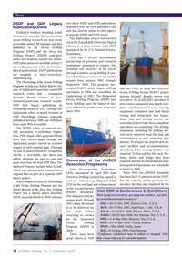 News : Volume 5, Issue 5 (01/09/2007) by