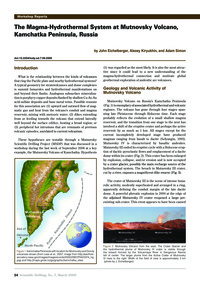 The Magma-hydrothermal System at Mutnovs... by Eichelberger, J.