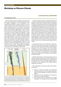 Workshop on Pliocene Climate : Volume 9,... by Etourneau, J.
