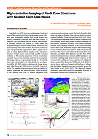High-resolution Imaging of Fault Zone St... by Ben-zion, Y.