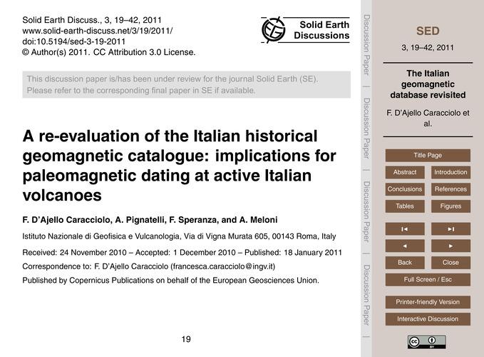 A Re-evaluation of the Italian Historica... by D'Ajello Caracciolo, F.