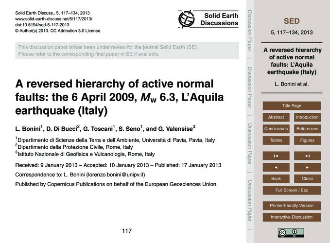 A Reversed Hierarchy of Active Normal Fa... by Bonini, L.