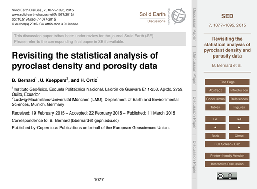 Revisiting the Statistical Analysis of P... by Bernard, B.