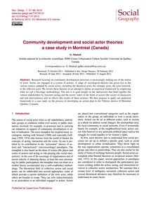 Community Development and Social Actor T... by Sénécal, G.