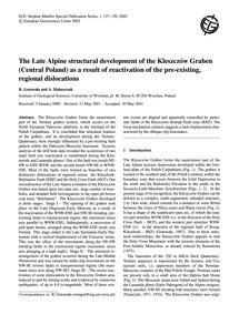 The Late Alpine Structural Development o... by Gotowała, R.