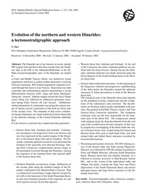 Evolution of the Northern and Western Di... by Tari, V.