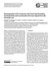Paleomagnetism of the Cretaceous Rocks f... by Harbert, W.