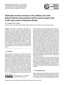 Multi-phase Tectonic Structures in the C... by Prokopiev, A. V.