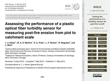 Assessing the Performance of a Plastic O... by Keizer, J. J.