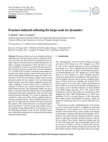 Fracture-induced Softening for Large-sca... by Albrecht, T.