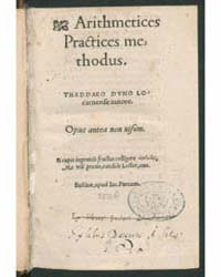 Arithmetices Practices Methodus, Documen... by Duno, Taddeo
