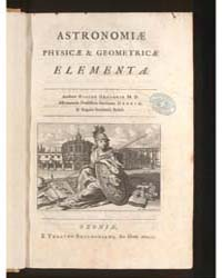Astronomiae Physicae & Geometricae Eleme... by Gregory, David
