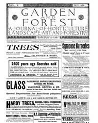 Garden and Forest Volume 10 Issue 464 Ja... by Charles S. Sargent